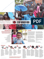 Stop Hunger Now 2015 Annual Report-Ban Tay Nhan Ai (Compassionate Hands Foundation)