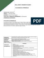 Plan de Clase Escuela Jose e Rosario