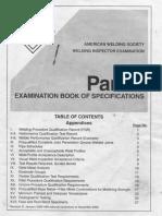 AWS Welding Inspector Examination_Part B