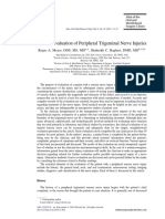 Clinical Evaluation of Peripheral Trigeminal Nerve Injuries