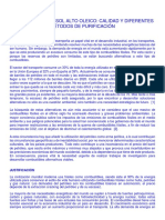 Biodiesel de Girasol Alto Oleico