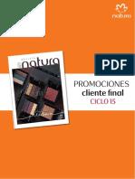 Promociones Natura Ciclo 15 2017