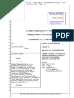 Order Granting in Part Denying in Part Msj