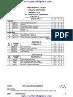 Aero r13 Sem7 syllabus