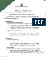 Informe Evaluación de nuevo CESFAM Puqueldón