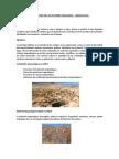 Arqueología en minería