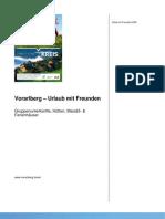 Vorarlberg – Urlaub mit Freunden