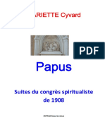Papus - Congres Suite 1909