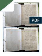 Carta de Dote y Arras de Miguel de Cervantes y Trascripción