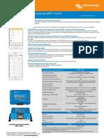 Datasheet SmartSolar Charge Controller MPPT 150 35 FR