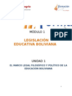 Lectura 1 El Marco Legal Filosofico Politico Educativo 2015