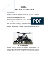 Apache Helicopter Report