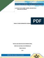Evidencia 1 Solución de Caso Diseño, Descripción y Análisis de Cargos