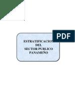 Estratificacion Del Sector Publico Panameno