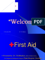 First Aid - Prehospital Care