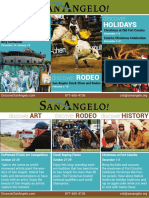 San Angelo Convention & Visitors Bureau 2017 Magazine Ads