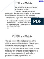 Cufsm Advanced Matlab
