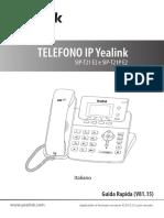 Yealink SIP-T21-E2-&-T21P-E2 Quick Start Guide V81 15 Italian