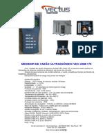 Medidor Vazao Ultrassonico VEC USM 170 Data Sheet