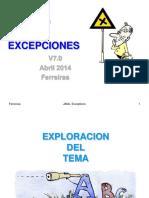 9-Java, Manejo de Excepciones