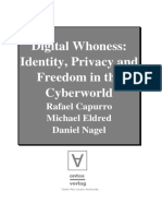 Capurro Edelred Nagel Digital Whoness Identity Privacy Cyberworld