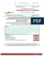 EVALUATION OF ANTI-EPILEPTIC ACTIVITY OF CHLOROFORM EXTRACT OF LEAVES OF BARRINGTONIA RACEMOSA IN MICE