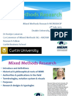 Dr r Cameron Mixed Methodology