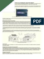 Mantenimiento de La Instalación Solar Fotovoltaica