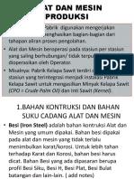 3. Alat Dan Mesin Produksi
