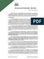 Resolución Gerencial Nº 487-2016-Mda-gm Plan de Trabajo de Segundo Cabildeo Cobntruyendo Una Cultura de Paz