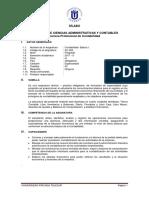 AC-303 - Contabilidad Básica I - Contabilidad