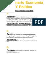 Diccionario Economia Y Politica