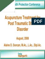 Treatment of Traumatic Stress