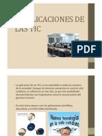 Tema2. Alicaciones de Las TIC