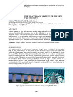Fatigue assessment of approach viaducts of the New Sado River Railway crossing
