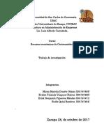 Recursos Económicos de Centroamérica