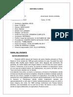 Historia Clínica Tvp Definitiva 100% No Feik