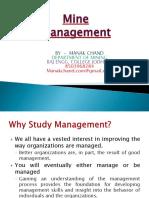 01 Mine Management