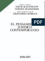BELM-23607(El Pensamiento Jurídico Contemporáneo -Robles)