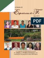 Coletânea de Experiências de Fé - 2010 04 - 04 Abril 2010