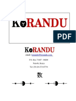 KoRANDU General Profile - XL Version