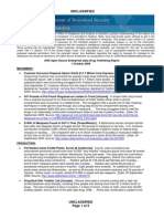 DHS Drug Trafficking Report 2009-10-01