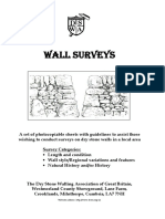 Wall Survey Papers