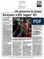 [Nation.co.Ke] State Starts Process to Issue Kenyans With 'Super' ID y070614