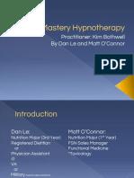 self mastery hypnotherapy pptx