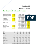 5 b What is Company Cost of Equity