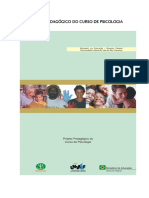 Projeto Pedagógico Psicologia Univasf
