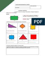 Guía Refuerzo Matemática 4 Area y Perimetro