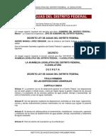 Ley de Aguas 2015