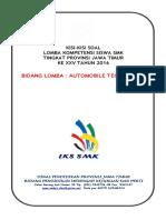 Kisi-kisi Lks Bid. Automobile Technology 2016